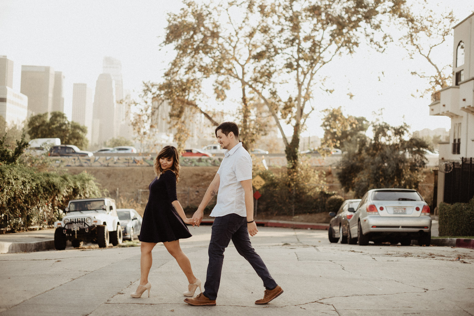 Silver Lake Engagement| Brocoff Photography | Southern California Wedding Photographers | downtown LA | silver lake engagement